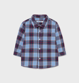 Mayoral LS Checked Shirt Bordeaux
