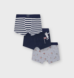 Mayoral 3pc Boxers Set Space Navy