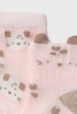 Mayoral 4pc Sock Set Baby Rose