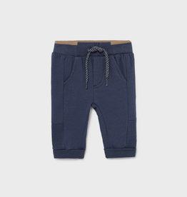 Mayoral Fleece Basic Trousers Sport Blue