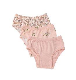 Angel Dear Flower Power 3 Pack Panty Set