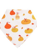 Angel Dear Pumpkins Bandana Bib Orange