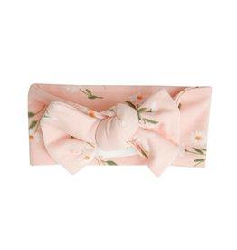 Angel Dear Pretty Daisies Headband Pink 0-12M