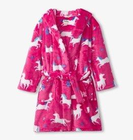 Hatley Twinkle Unicorns Fleece Robe