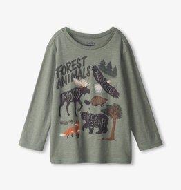 Hatley Forest Animals LS Tee