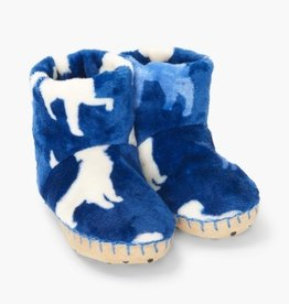 Hatley Silhouette Pups Fleece Slippers