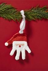 Mud Pie Santa Handprint Ornament