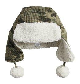 Mud Pie Camo Sherpa Hat INFANT