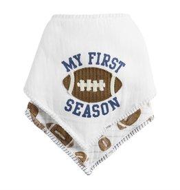 Mud Pie Blue My First Season Bib Set