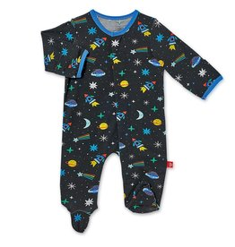 Magnificent Baby Space Chase Modal Magnetic Footie