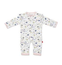 Magnificent Baby Wonderland Organic Cotton Magnetic Coverall