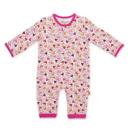 Magnificent Baby Heart to Heart Modal Magnetic Coverall