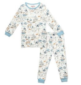 Magnificent Baby Northern Lights Modal Toddler PJ Set