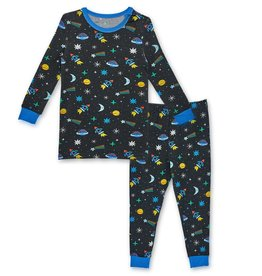 Magnificent Baby Space Chase Modal Toddler PJ Set