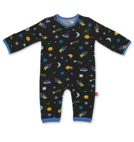 Magnificent Baby Space Chase Modal Magnetic Coverall