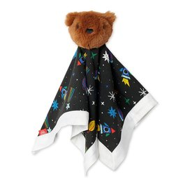 Magnificent Baby Space Chase Modal Bear Lovey Blanket