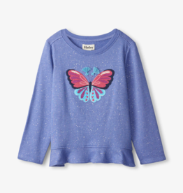 Hatley Butterfly Flounce Hem Top