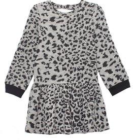 Mabel & Honey Run Wild Knit Dress Grey