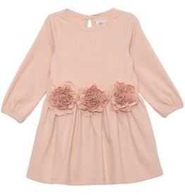 Mabel & Honey Pink Pearl Sparkling Knit Dress Pink