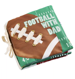 Mud Pie Football With Dad Book