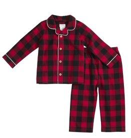 Mud Pie Buffalo Check 2pc Pajamas