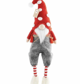 Mud Pie Pants Christmas Dangle Leg Gnome