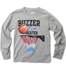 Wes And Willy Buzzer Beater LS Tee Heather