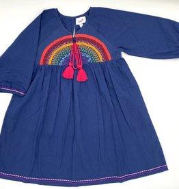 Cheeni Choose Joy Dress Navy