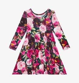 Posh Peanut Zelda LS Basic Twirl Dress