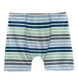 Kickee Pants Boxer Brief Fairground Stripe
