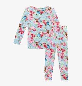 Posh Peanut Fawn Long Sleeve Basic Pajama Set