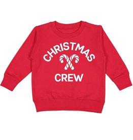 Sweet Wink Christmas Crew LS Sweatshirt Red
