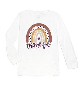 Sweet Wink Thankful Rainbow LS Shirt White