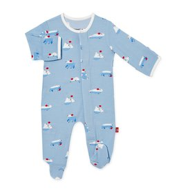 Magnificent Baby Roly Poly Modal Magnetic Footie