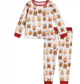 Mud Pie Reindeer Pajamas