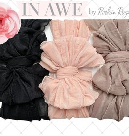 In Awe Couture Boho Ruffle Headband Box Set