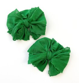 In Awe Couture Individual Ruffle Clip Green