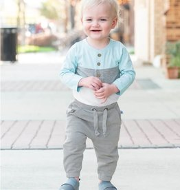 Ruffle Butts/Rugged Butts Heather Gray Knit Jogger Pants