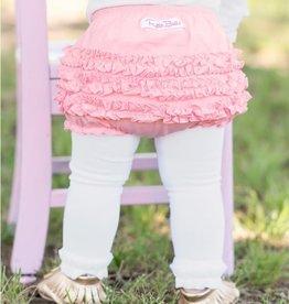 Ruffle Butts/Rugged Butts Pink Knit RuffleButt