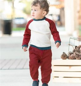 Ruffle Butts/Rugged Butts Rosewood Jogger Pants