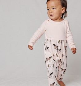 Tea Collection Mix It Up Baby Romper Painted Ponies