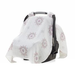 Aden & Anais For the Birds - Medallion Car Seat Canopy