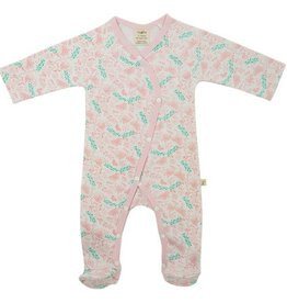 Tiny Twig Butterfly Garden Kimono Growsuit