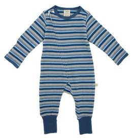 Tiny Twig Marble Stripes LS Zipsuit