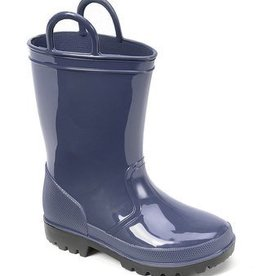 Trimfoot Co. Navy Rubber Rain Boot