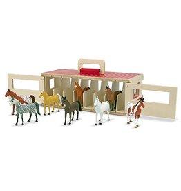 Melissa & Doug Show Horse Stable