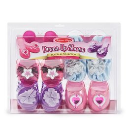 Melissa & Doug Dress Up Shoes Role Play Collection