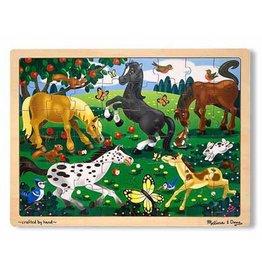 Melissa & Doug Frolicking Horses Jigsaw