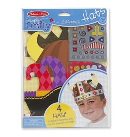Melissa & Doug Simply Crafty Adventure Hats