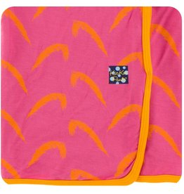 Kickee Pants Swaddle Blanket Carnival Feathers